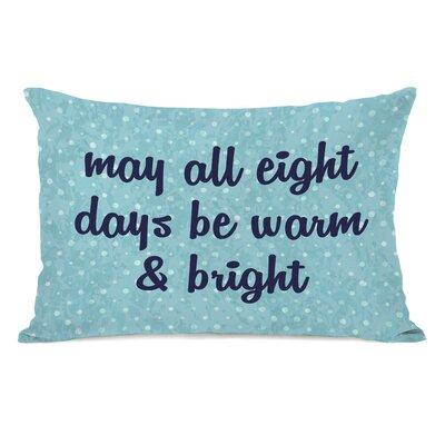 All Eight Days Lumbar Pillow