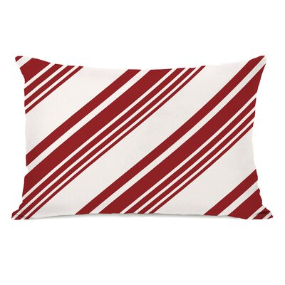 Candy Cane Lumbar Pillow