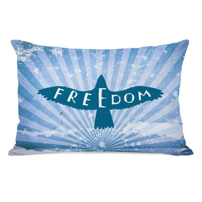 Freedom Bird Lumbar Pillow