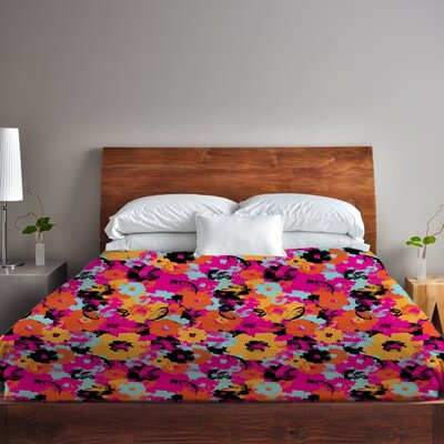 Summers Day Lightweight Duvet Cover Size: Full Queen