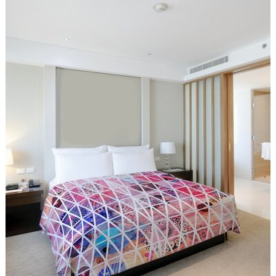 Nebula Lightweight Duvet Cover Size: King