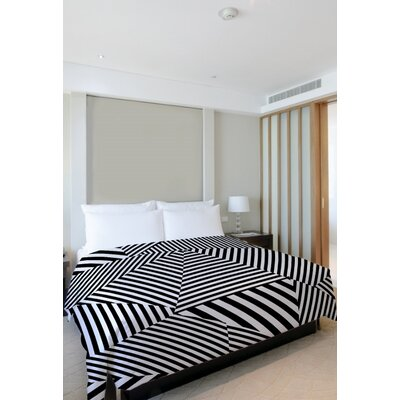 Edit Stripe Lightweight Duvet Cover Size: Full Queen