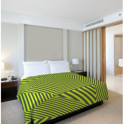 Edit Stripe Duvet Cover Size: Twin