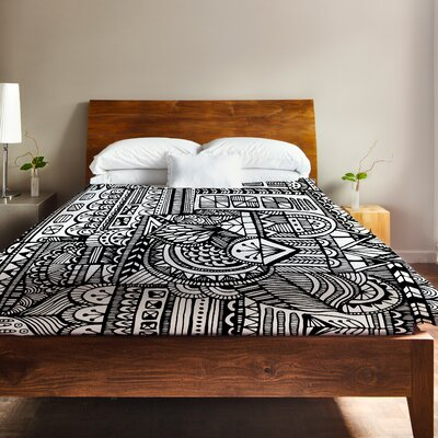 Laurel Duvet Cover Size: King