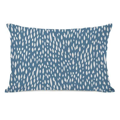 Dotty Pattern Lumbar Pillow