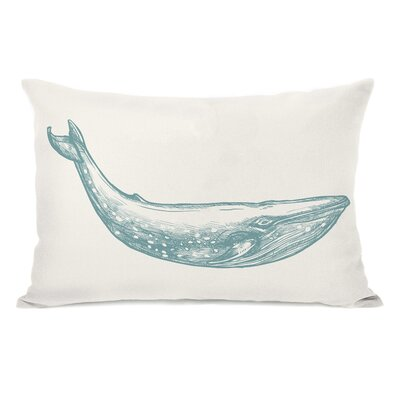 Natural Whale Lumbar Pillow
