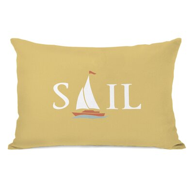 Sail Ship Lumbar Pillow