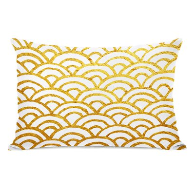 Patillo Gold Outdoor Lumbar Pillow