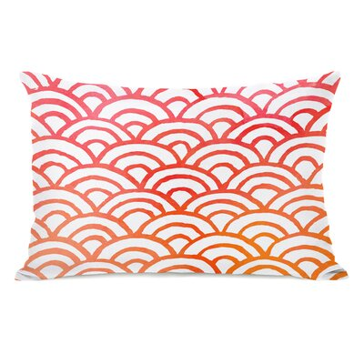 Scallop Melon Lumbar Pillow