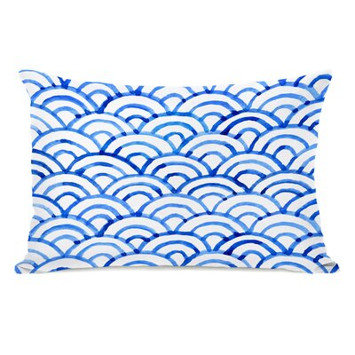 Scallop Ocean Lumbar Pillow
