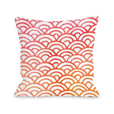 Patillo Melon Outdoor Throw Pillow Size: 18 x 18