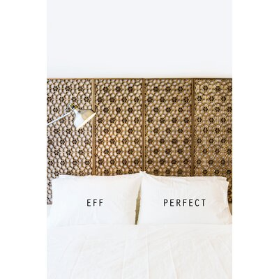 2 Piece Eff Perfect Pillowcase Set