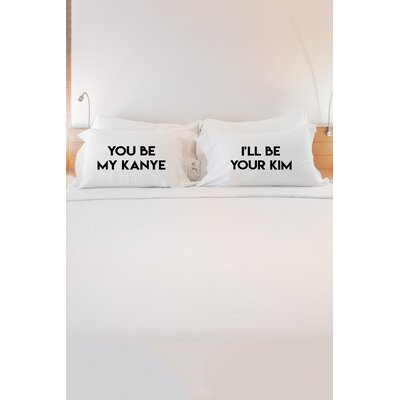 2 Piece Power Couple Pillowcase Set