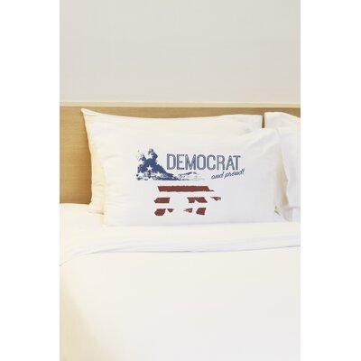 Democrat and Proud Pillow Case