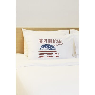 Republican and Proud Pillow Case