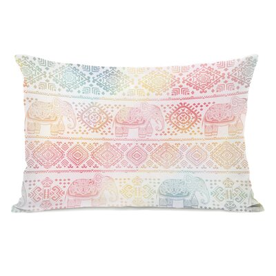 Boho Ele Lumbar Pillow