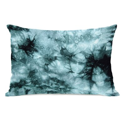 Dye Pattern Electric Lumbar Pillow Color: Blue
