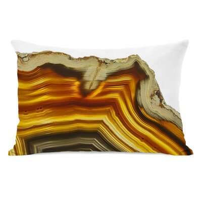 Geode Amber Lumbar Pillow