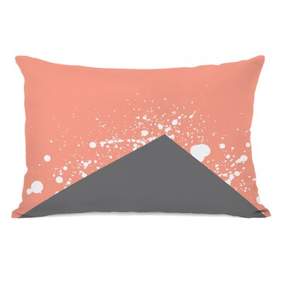 Triangle Pop Melon Lumbar Pillow
