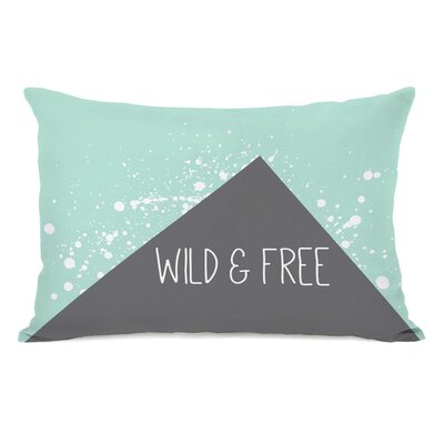 Triangle Pop Wild and Free Lumbar Pillow