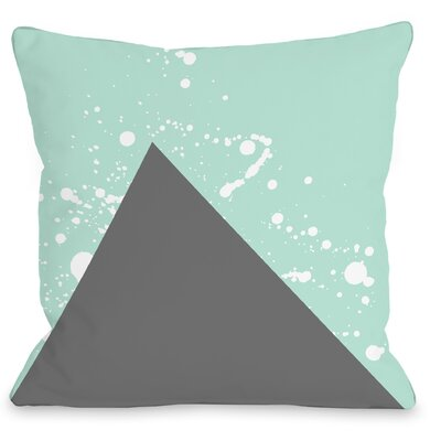 Triangle Pop Throw Pillow Size: 18 H x 18 W x 3 D
