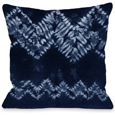 Dye Dream Throw Pillow Size: 16 H x 16 W x 3 D