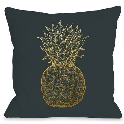 Pine Throw Pillow Size: 16 H x 16 W x 3 D