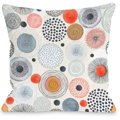Amy Throw Pillow Size: 18 H x 18 W x 3 D