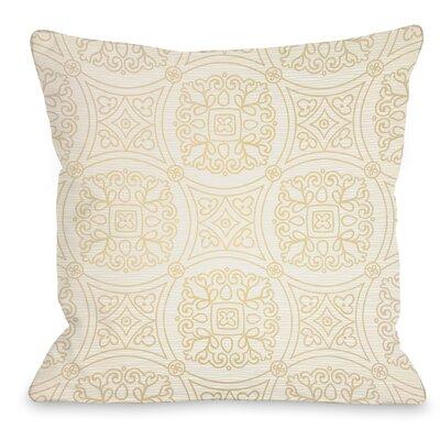 Doily Throw Pillow Size: 16 H x 16 W x 3 D