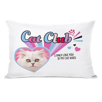 Cat Club Lumbar Pillow