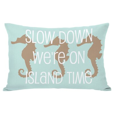 Island Time Lumbar Pillow