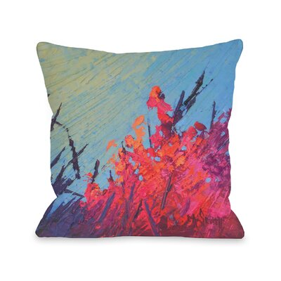 Billips Reef Garden Outdoor Throw Pillow Size: 16 x 16