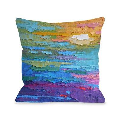 Pfarr Summer Heat Outdoor Throw Pillow Size: 16 x 16