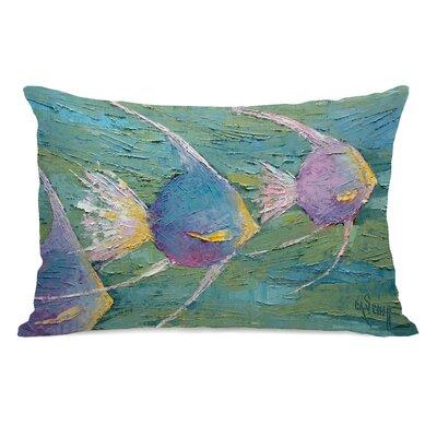 Ciotti Angels On Parade Outdoor Lumbar Pillow