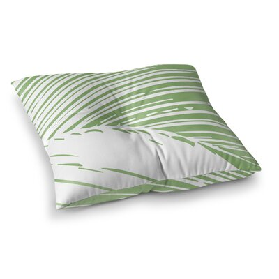 Kanisha Palm Leaves Outdoor Floor Pillow Size: 26 H x 26 W x 6 D