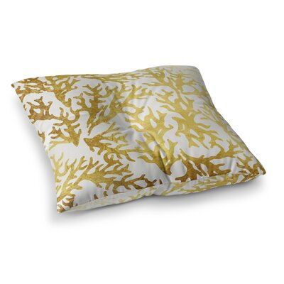 Wynnefield Coral Outdoor Floor Pillow Size: 26 H x 26 W x 6 D
