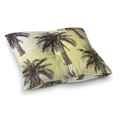 Coulston Palm Tree Outdoor Floor Pillow Size: 23 H x 23 W x 4 D