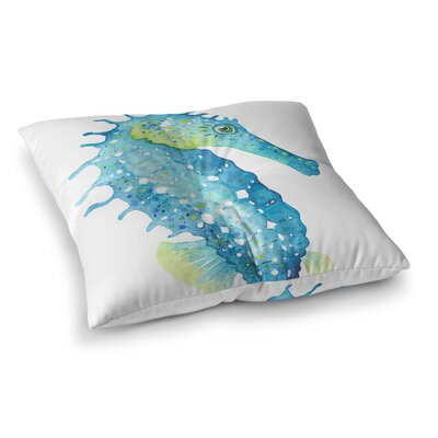 Fitzpatrick Seahorse Outdoor Floor Pillow Size: 26 x 26