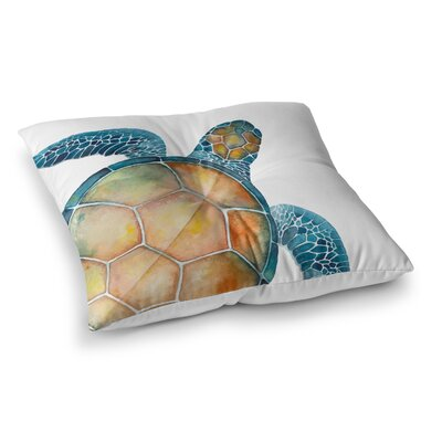 Wakefield Sea Turtle Outdoor Floor Pillow Size: 23 x 23