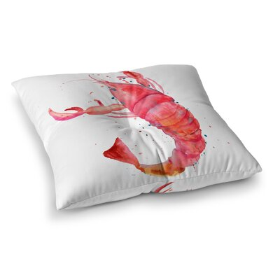 Stowe Lobster Outdoor Floor Pillow Size: 26 x 26