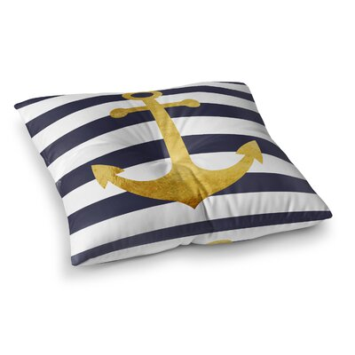 Vella Anchor Outdoor Floor Pillow Size: 6 H x 26 W x 26 D