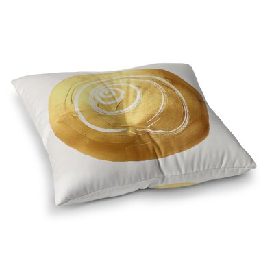 Clarke Shell Circle Outdoor Floor Pillow Size: 26 x 26