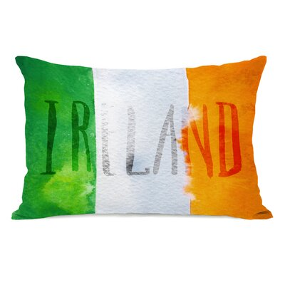 Zaya Irish Flag Lumbar Pillow