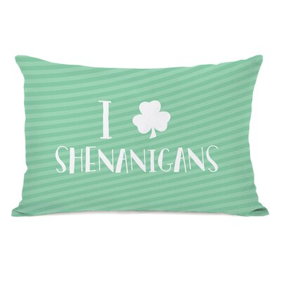 Zelida Shenanigans Lumbar Pillow
