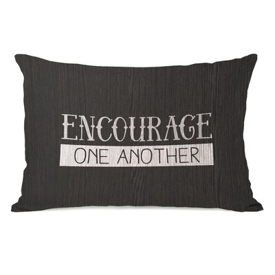 Cabo Encourage One Another Lumbar Pillow