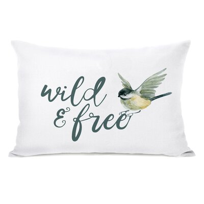 Levingston Wild and Free Bird Lumbar Pillow