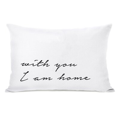 Madera With You I Am Home Lumbar Pillow