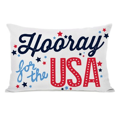 Alderley Hooray for the USA Lumbar Pillow