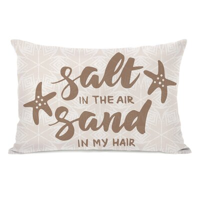 Browns Salt Air Sand Hair Lumbar Pillow