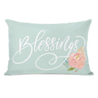Naperon Blessings Lumbar Pillow